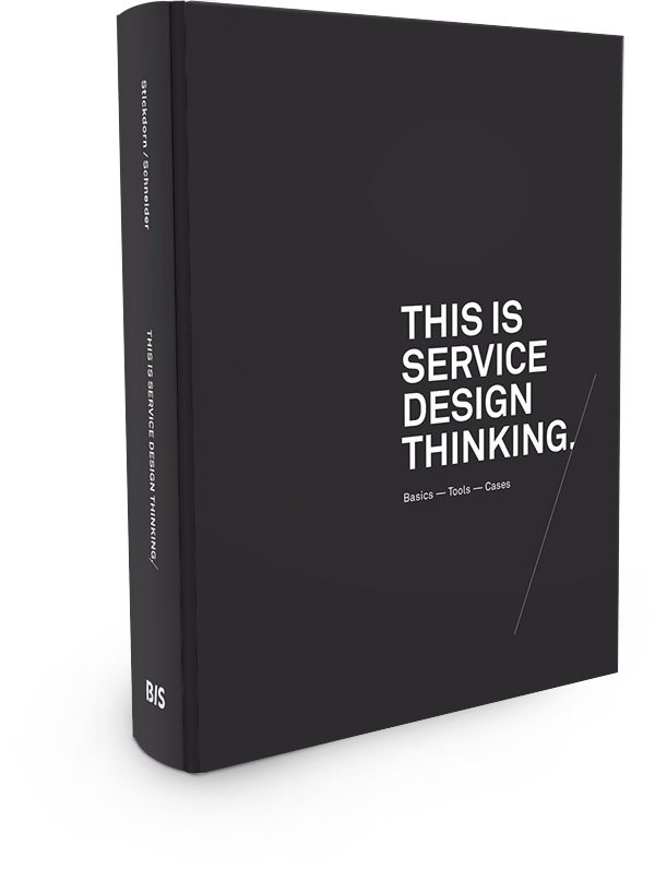 Packshot of the book This is Service Design Thinking